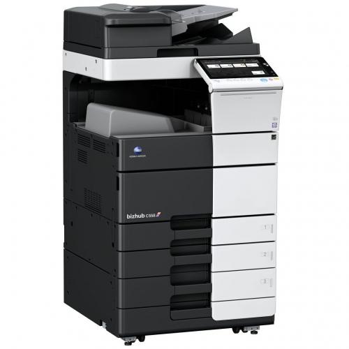 Pronájem tiskárny A3 bizhub 458 color
