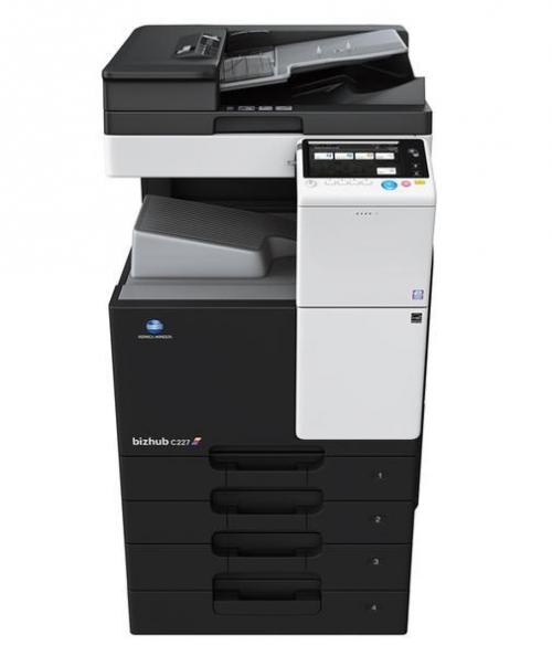 Pronájem tiskárny A3 bizhub C227 color