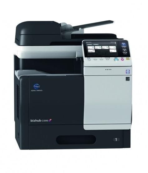Pronájem tiskárny A4 bizhub C3350 color