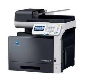 Pronájem tiskárny  A4 bizhub C35 color